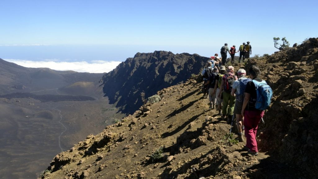 Hiking in Cabo Verde