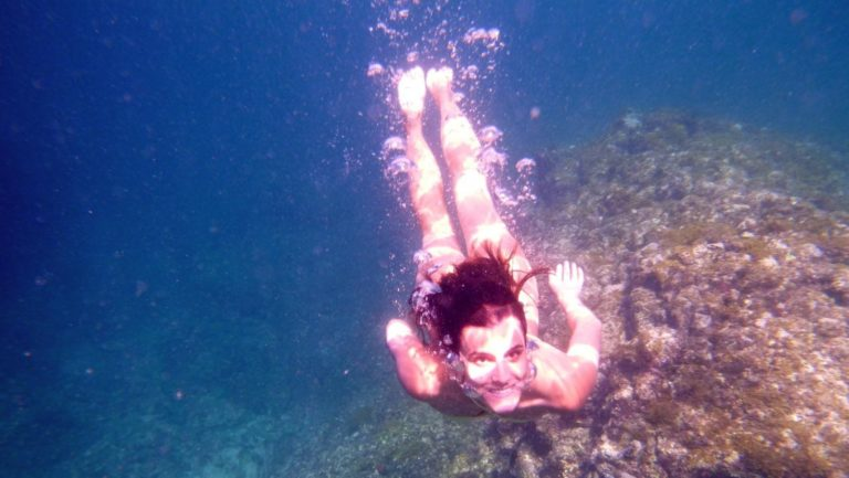 Bathing in Cabo Verde