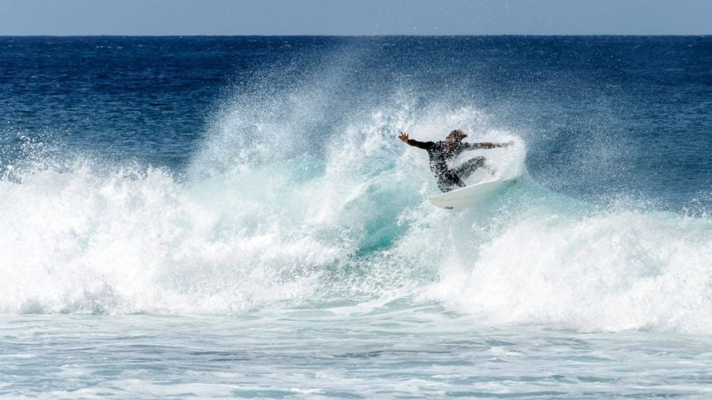 Surfing in Cabo Verde